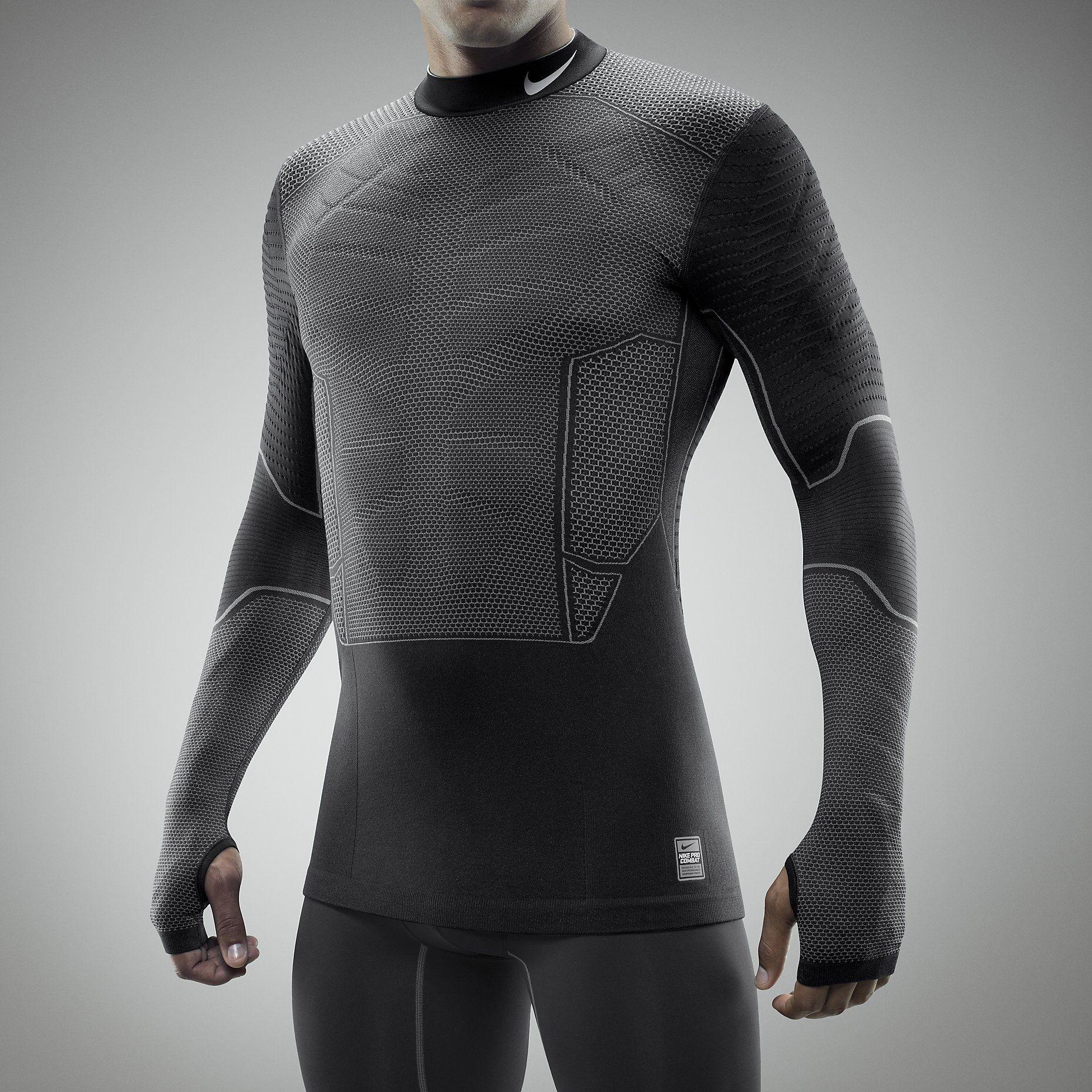 a0fcdf4a11ce1 Nike Pro Combat Hyperwarm Flex Mens Shirt. Nike Store