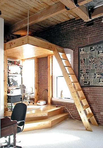 Lit Mezzanine Design