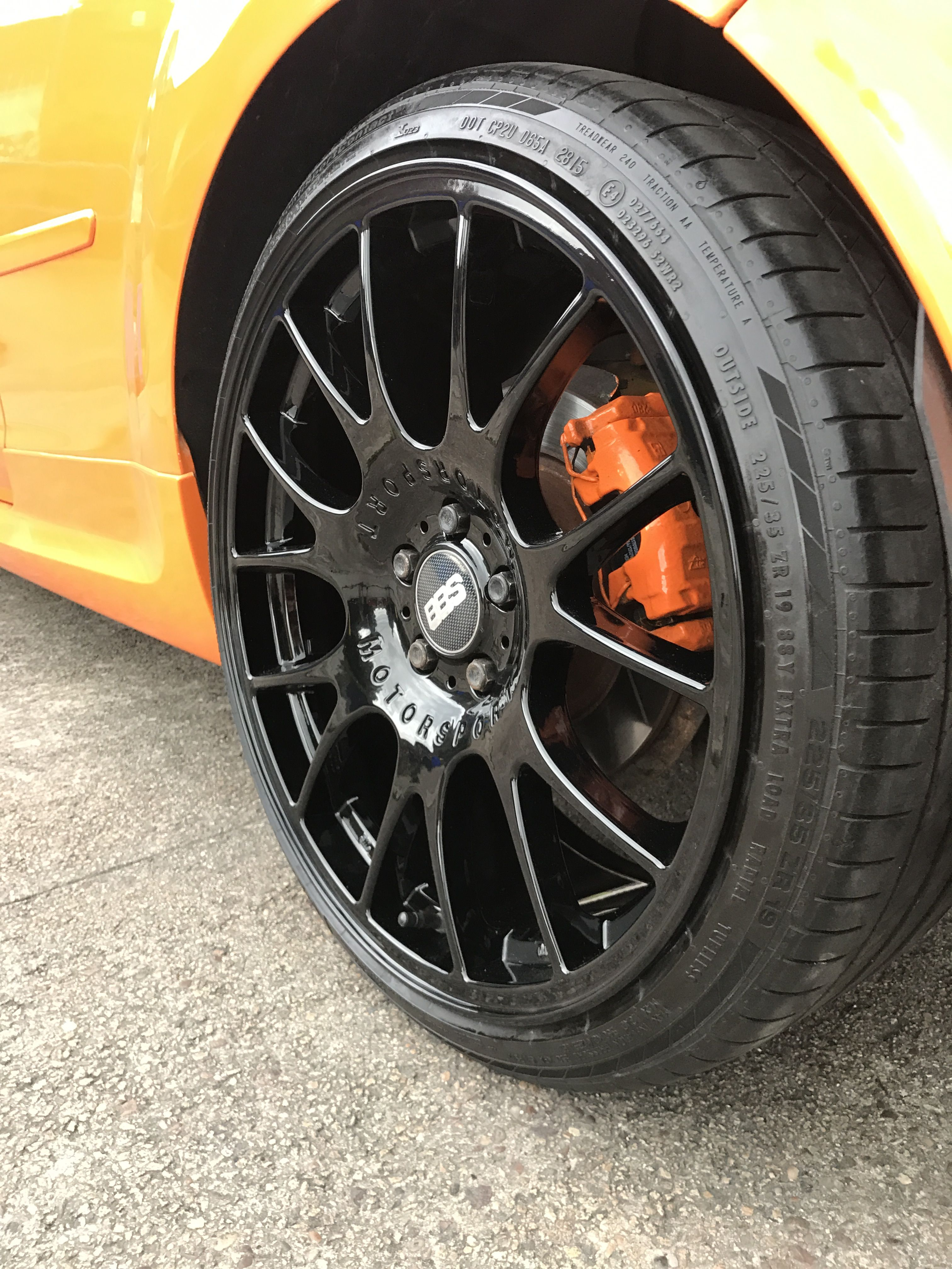 Ford Focus St Alloys We Refurbished And Powder Coated Gloss Black
