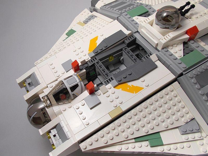 Customized Lego Rebels Ghost | lego star wars | Pinterest | Lego ...