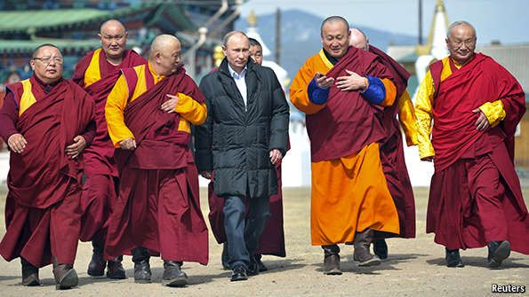 MY COLLEAGUE Banyan reports in the print edition this week on the surreal spat involving China and the spiritual leader of Tibetan Buddhism. The Dalai Lama, who is...