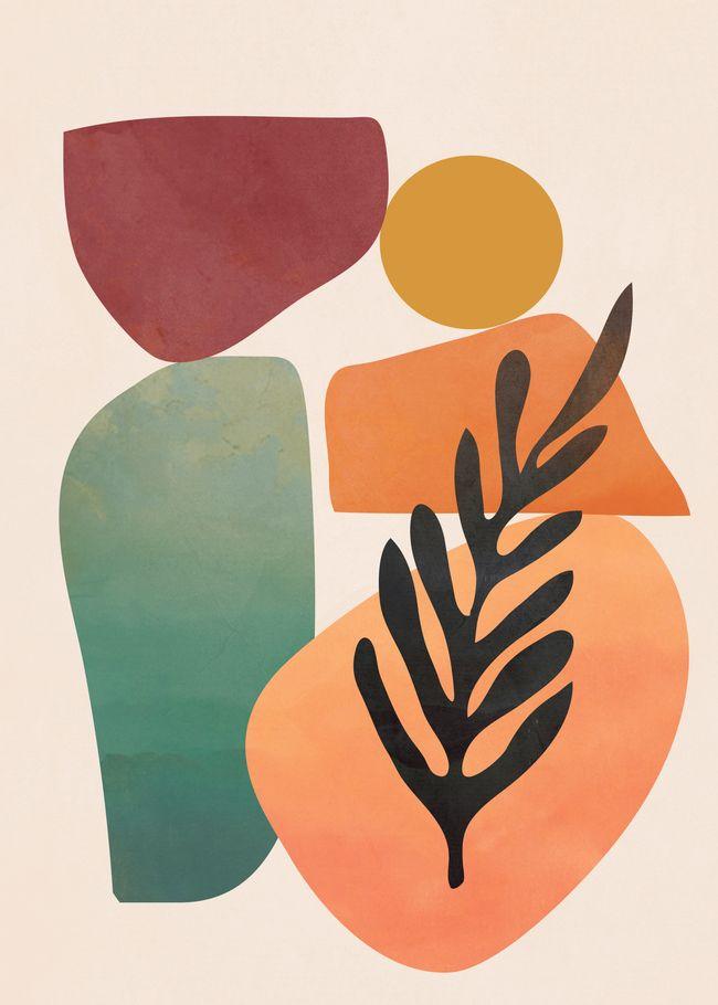 Geometry Abstract 3 Art Print