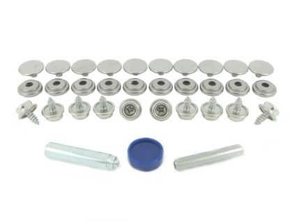 Bps 850 3 R00 Stainless Steel Grade 304 Press Stud Fastener Kit For Fabric To Wood Application Stainless Steel Grades Press Studs Brass Nickel