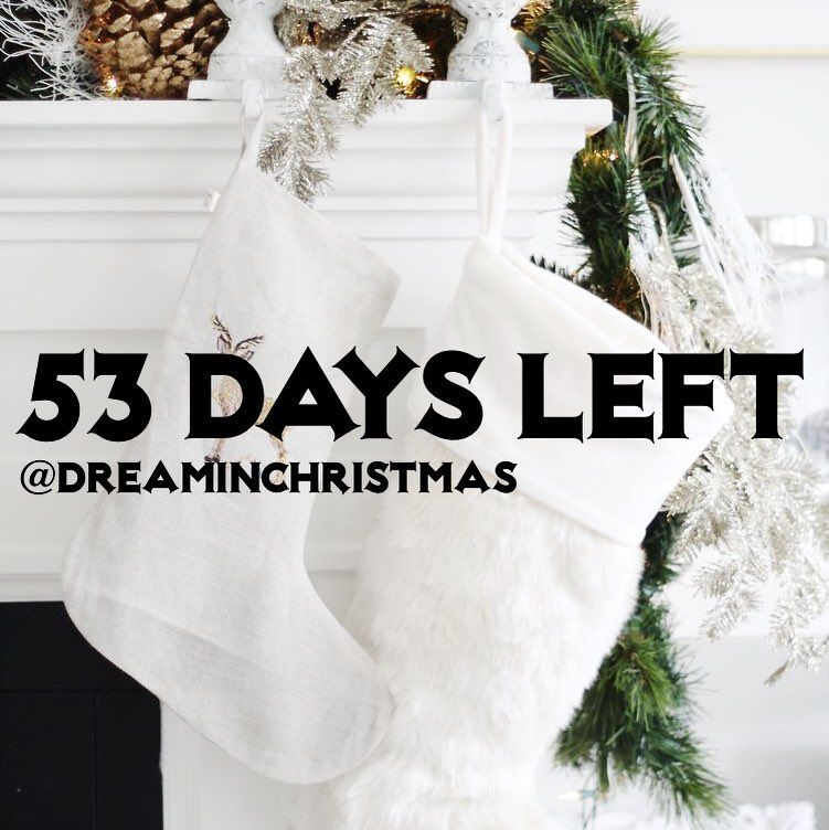 53 days until Christmas Eve And December is only one month