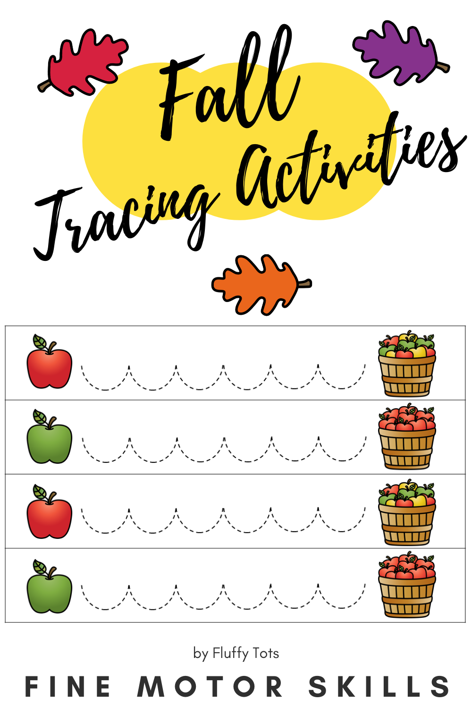 Fall Tracing Lines For Preschool Fall Preschool Worksheets Pre Writing Preschool Tracing [ 1500 x 1000 Pixel ]
