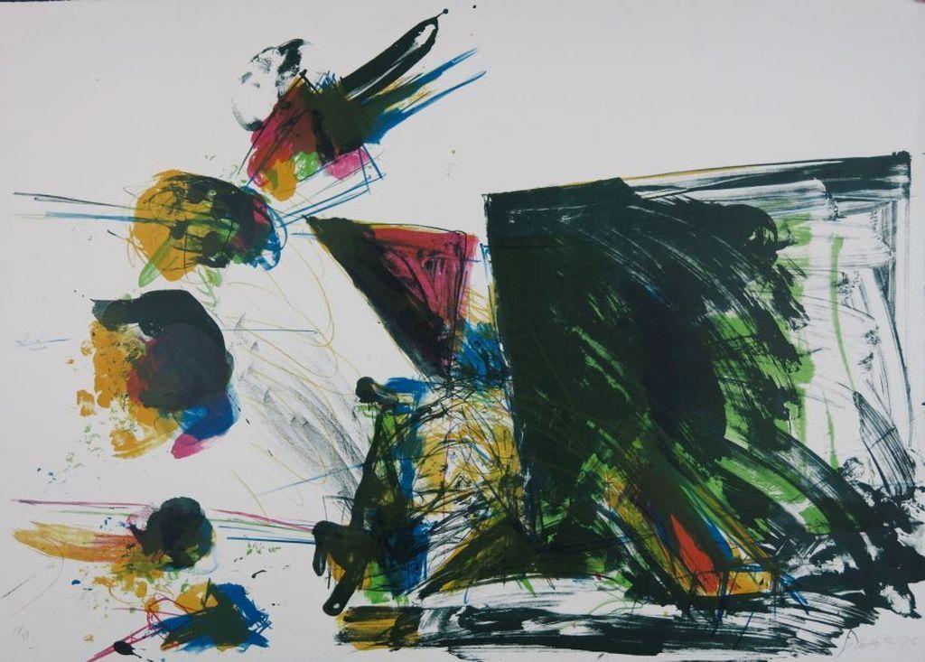 Ger Lataster: Litho, Compositie groen