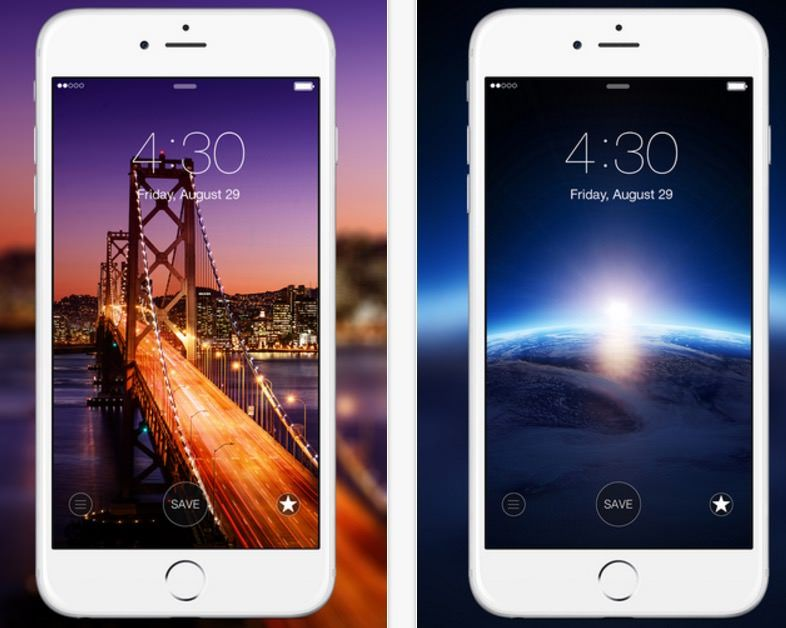 Top 10 Free Wallpaper Apps For Ios Android Devices Hongkiat Free Wallpaper Apps Wallpaper App Free Wallpaper