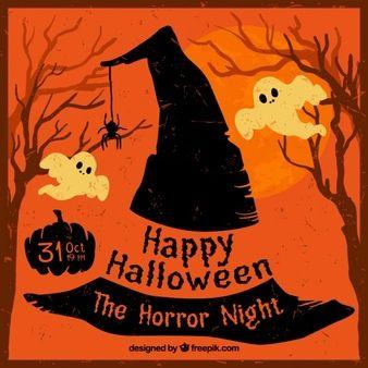 Pin En Halloween Personajes Objetos Brujas