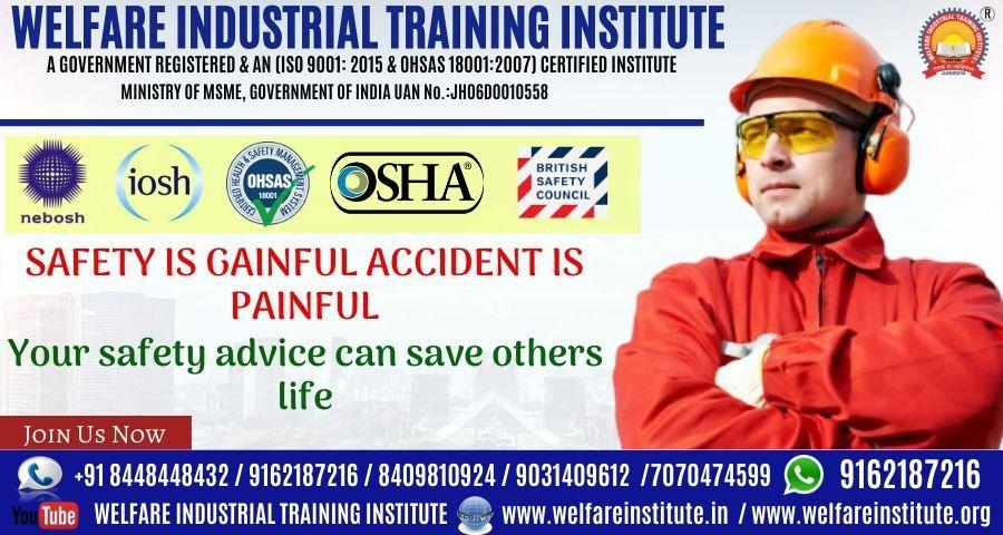 Best safety institute in jamshedpur in 2020 welfare