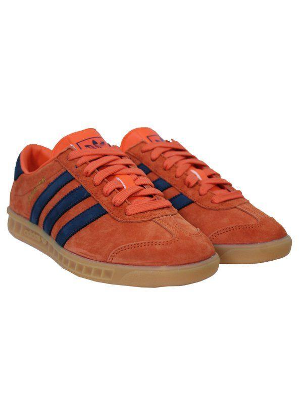 940c3da8477da1 adidas Originals Hamburg - Super Orange