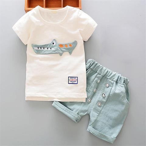 d527d58d9119 BibiCola Baby boy clothes casual cotton children boys sport suit ...