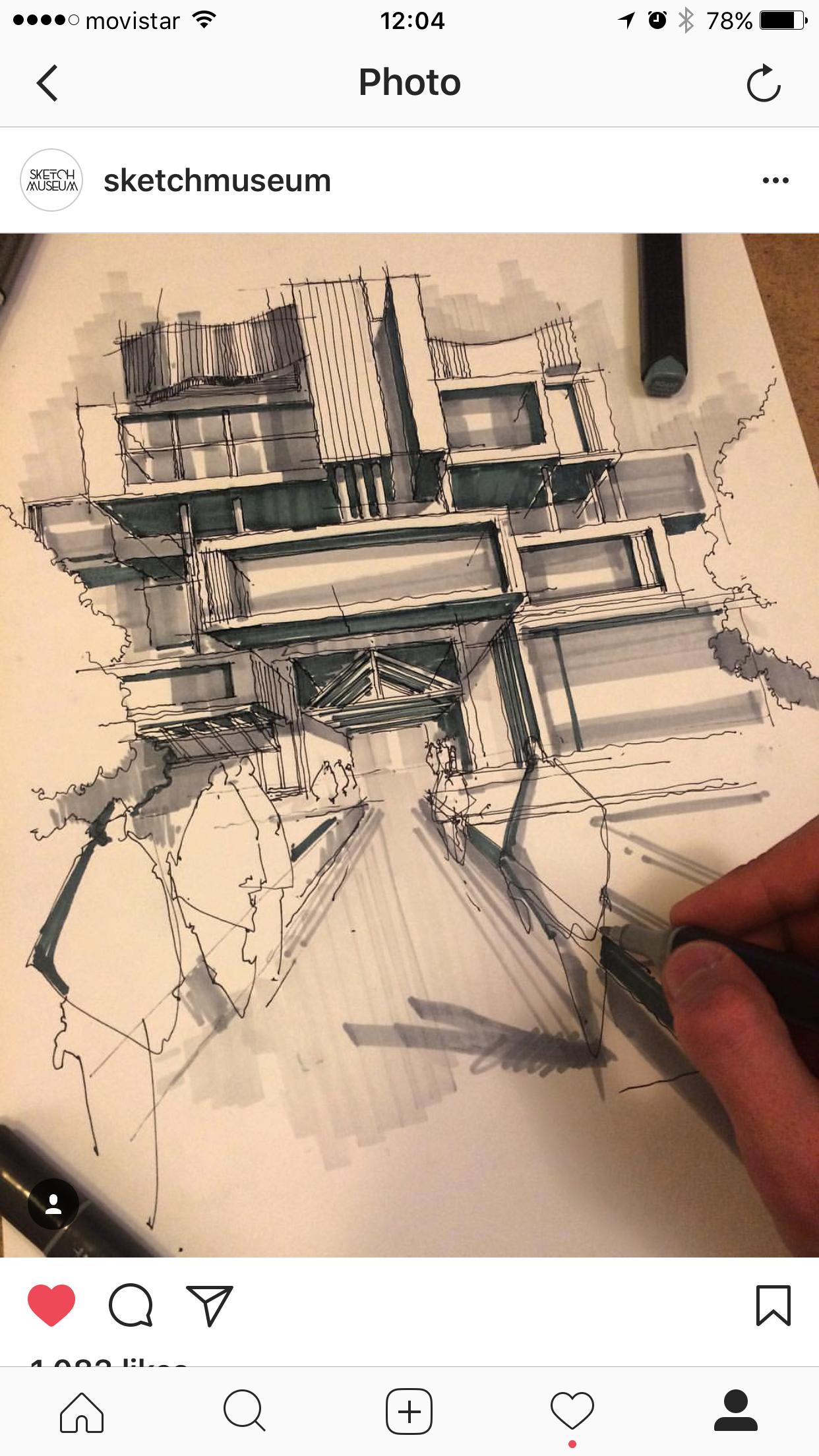 Zeichnen Architektur Portfolio Erstaunliche Moderne Architektonische Prasentation Skizze Bleistiftskizzen