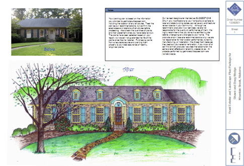 Get More Curb Eal Llc Is The Only Online Design Service That Offers Both Exterior Home Makeovers And Landscape Plans