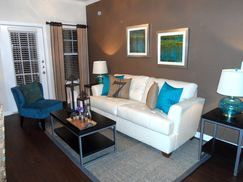 Two bedroom two bath Model apartments in North Austin.  Contemporary with an industrial touch.