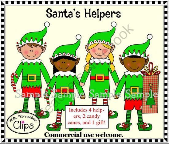 Clip Art - Santa