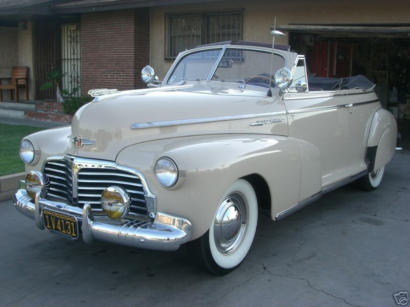 Beautiful 1942 Chevy Convertible | Coffee Time Cruising ...