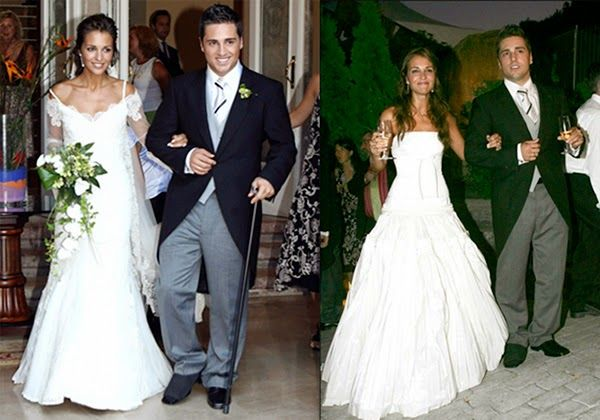 vestidos de novia boda paula echevarría david bustamante hermanas