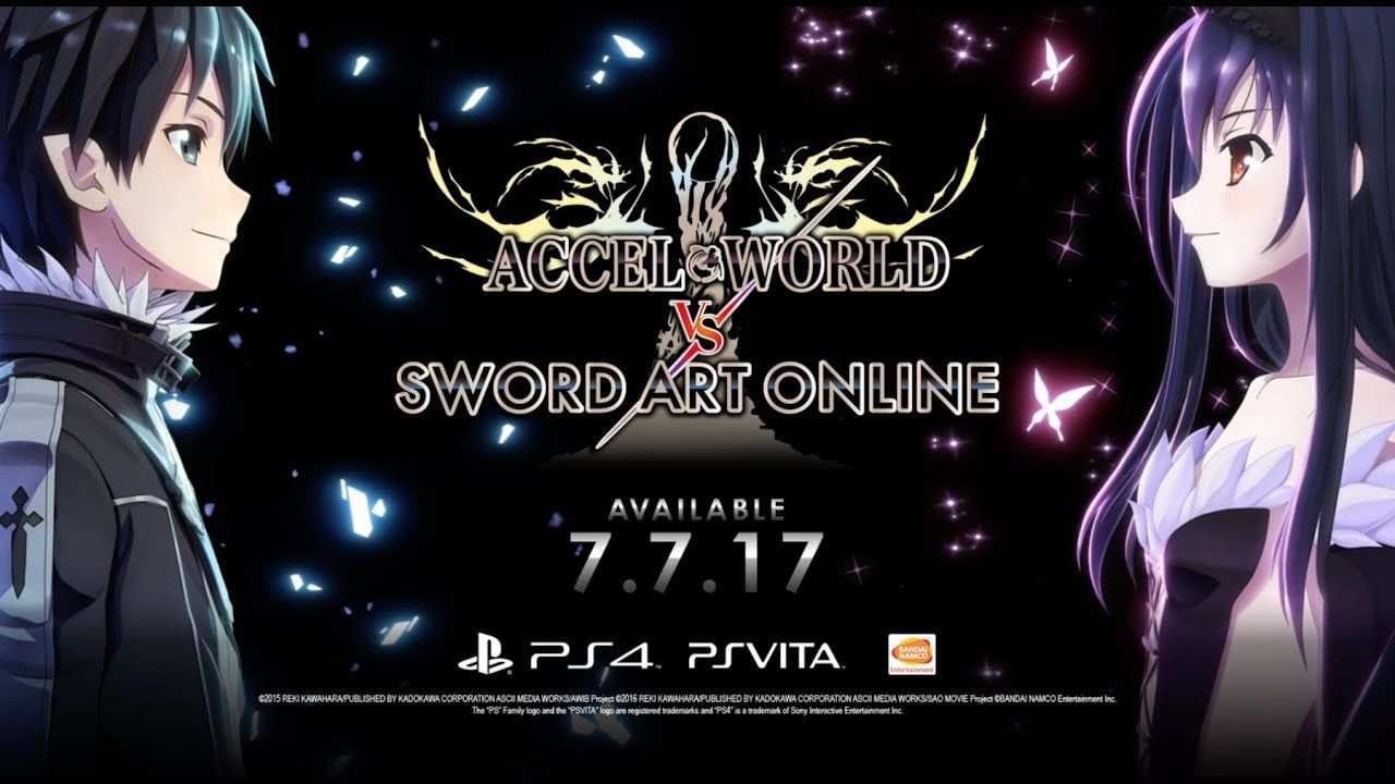 Accel World Vs Sword Art Online Millennium Twilight Di 2020