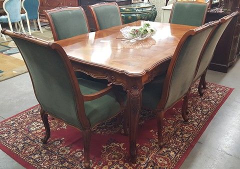 Marvau0027s Place Used Furniture U0026 Consignment Store | Drexel Heritage Brittany  Collection Dining Table With 6 Chairs. NOW $2800 AT MARVASPLACE.COM  PLYMOUTH MN ...
