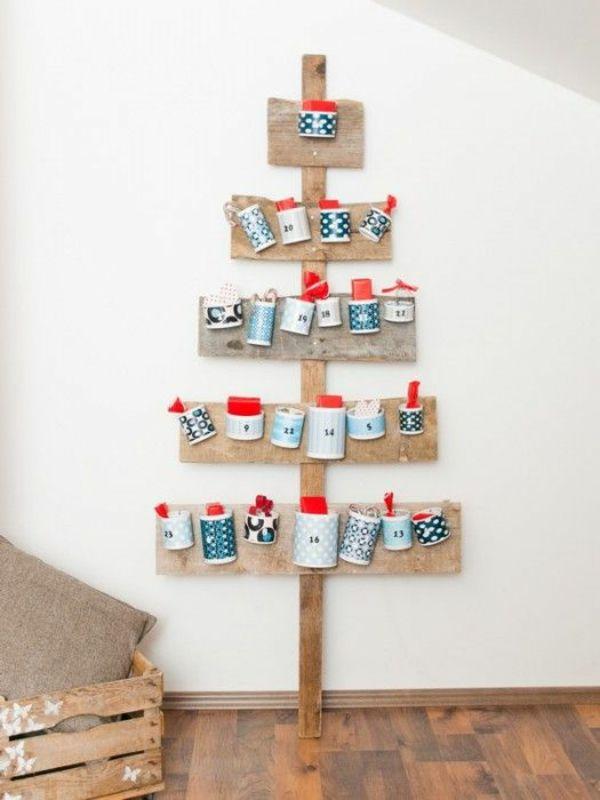 1001 adventskalender selbst gestalten bastelideen f r weihnachten adventskalender. Black Bedroom Furniture Sets. Home Design Ideas