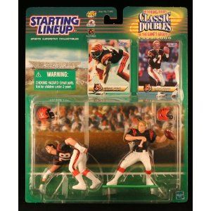 BOOMER ESIASON / CINCINNATI BENGALS & ANTHONY MUNOZ / CINCINNATI BENGALS 1999-2000 NFL Classic Doubles * Winning Pairs * Starting Lineup Action Figures & Exclusive Collector Trading Cards (Toy)  http://ruskinmls.com/pinterestamz.php?p=B0077FWRJS  B0077FWRJS