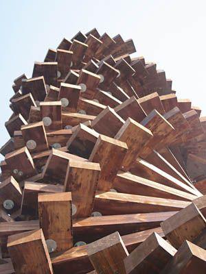 Rick Leplastrier sculpture