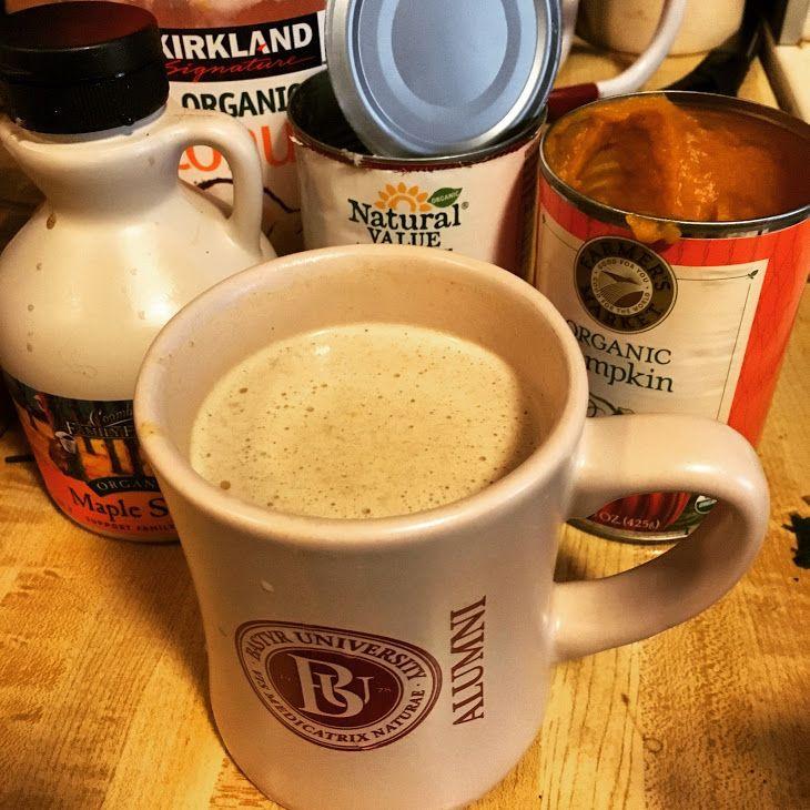 Decaf Pumpkin Spice Latte (dairy-free) Recipe Beverages
