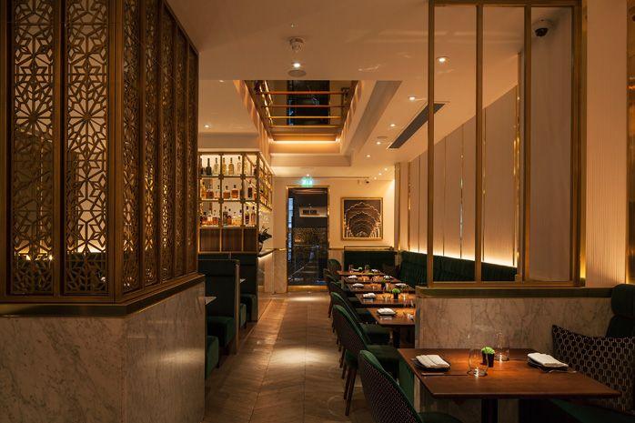 Indian Accent London Restaurant Interior Design By