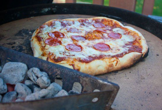 How To Use A Pizza Stone On A Charcoal Grill Grilling 24x7 Grilling Recipes Easy Grilling Cooking Stone