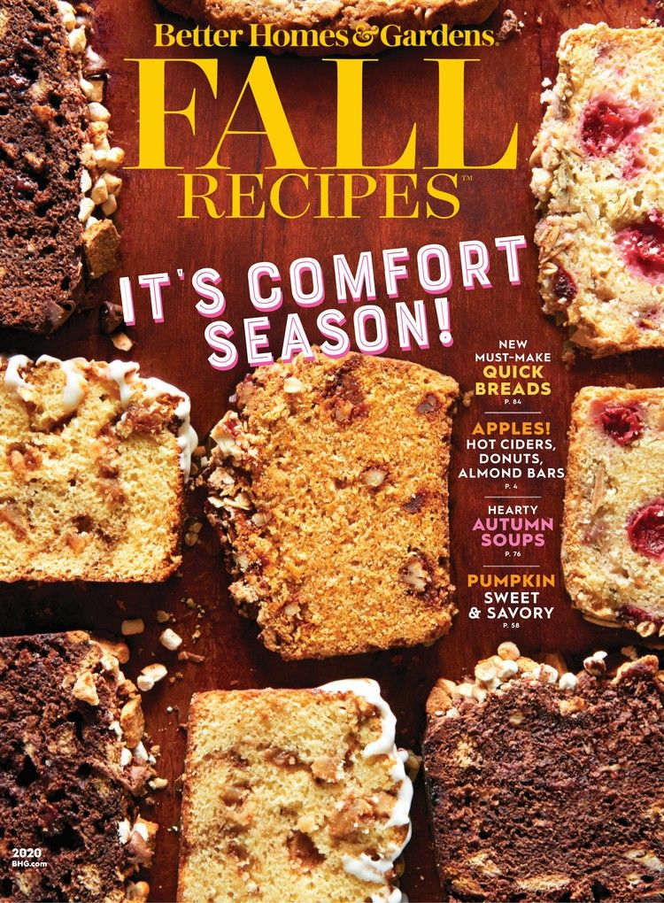 Better Homes And Gardens Fall Recipes