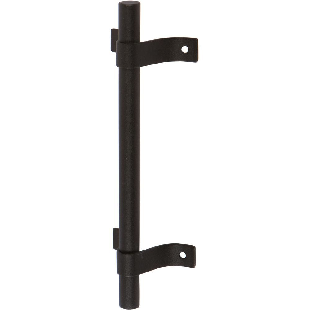 Delaney 7 3 4 In Black Barn Door Hardware Tubular H32 Pull Handle