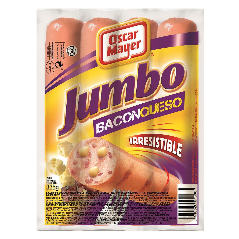 Salchichas Jumbo De Queso Con Bacon In 2020 Cereal Pops Pops