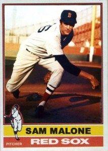 Fake 1976 Sam Malone Baseball Card Geeky Nerdy Or Funny
