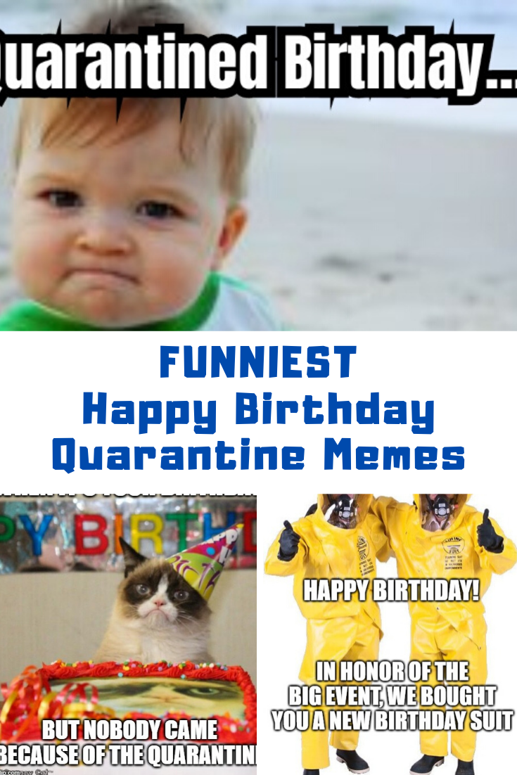 Pin on Quarantine Birthday Card