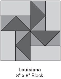 Louisiana - March BOM - Quilter's World