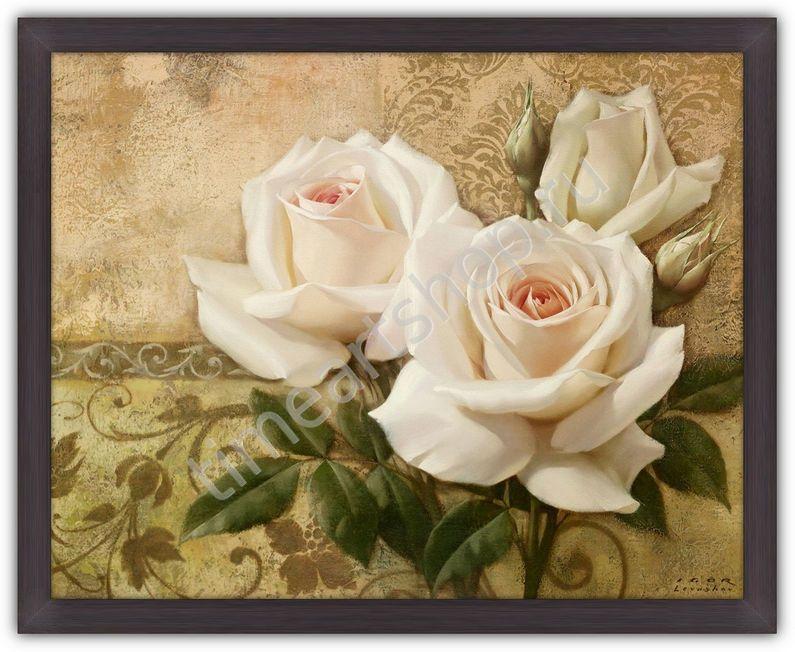 Картины своими руками из розы 467