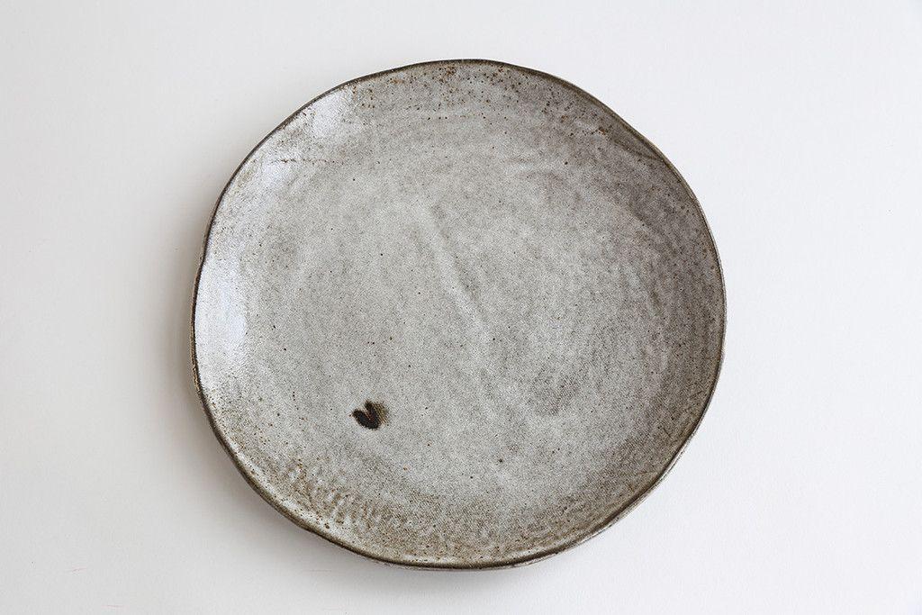 Stoneware Dinner Plate - Akikou0027s Pottery (Alder u0026 Co.) & Stoneware Dinner Plate - Akikou0027s Pottery (Alder u0026 Co.) | ceramics ...