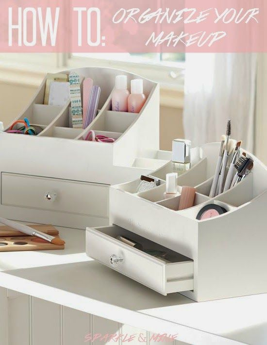 Sparkle U0026 Mine  How To Organize Your Makeup Collection! So Many Great Tips  And