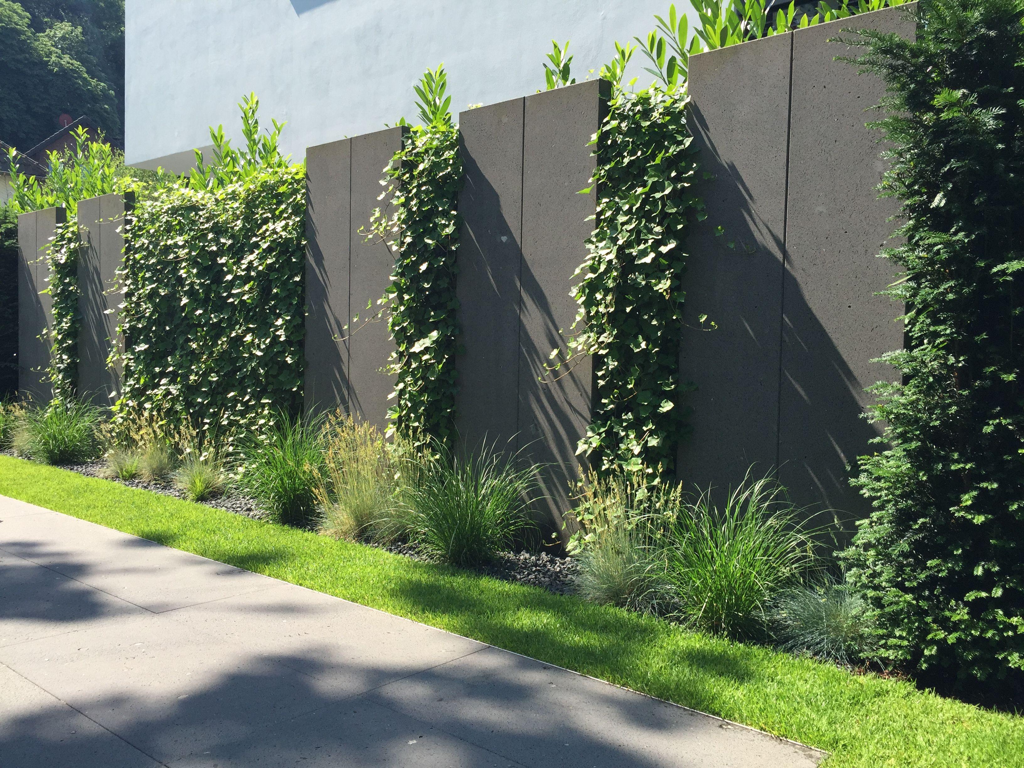 Sichtschutzelemente Aus Basaltlava Von Rheingrun Gartengestaltung