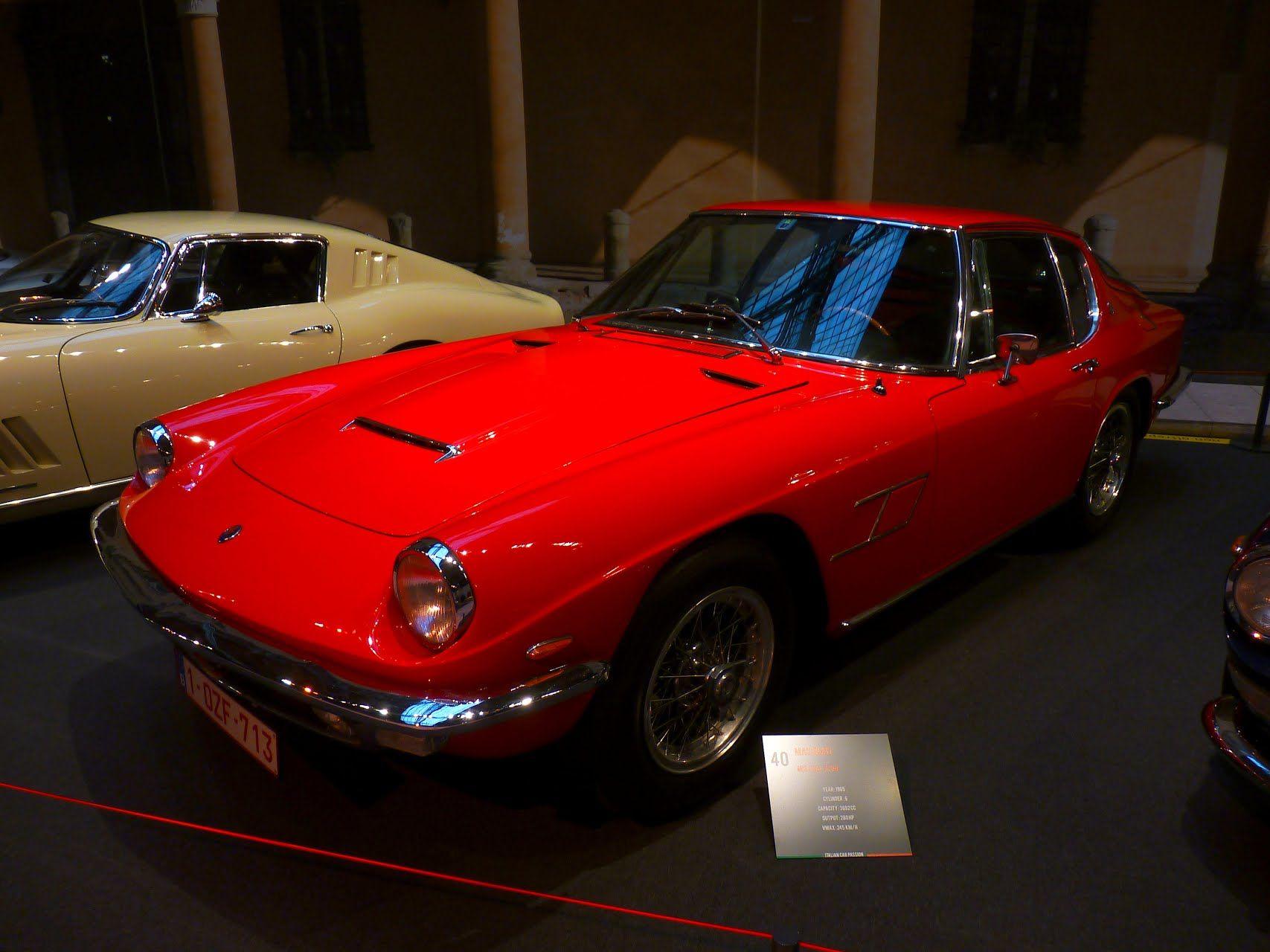 Maserati Mistral 3700 1965 | Maserati, Classic cars, Cool cars