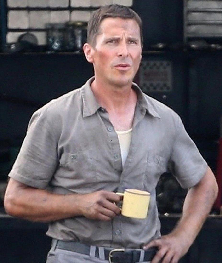Christian Bale Ford Vs Ferrari Movie August 2018