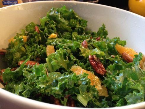 Kale Salad. Yum!