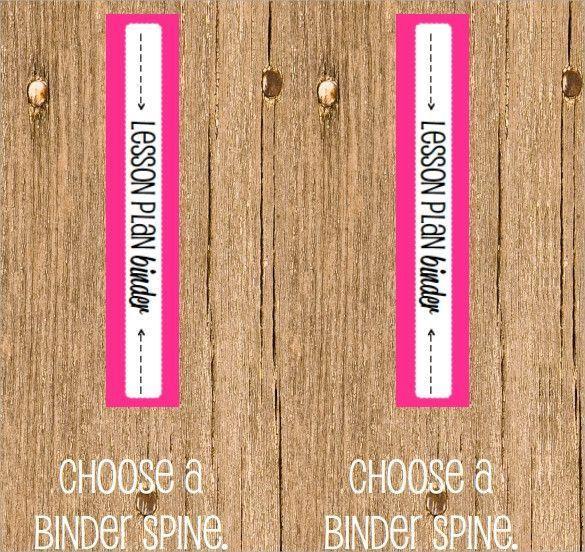1 Inch Binder Spine Template Excellent Sample Binder Spine
