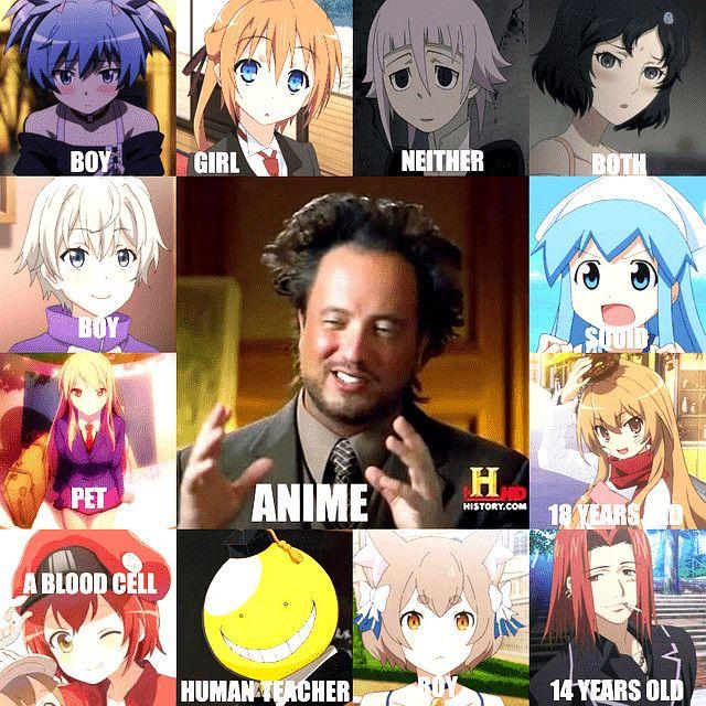 Bahahahahaha These Anime Memes Are Insane R/history