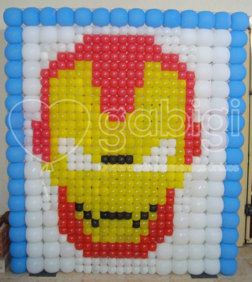 Pin by Deyanira Gamez on Super Heroes Globos | Pinterest | Balloon wall