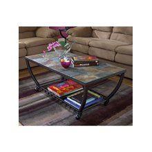 Ashley Furniture Antigo Rectangular Cocktail Table W Casters T233