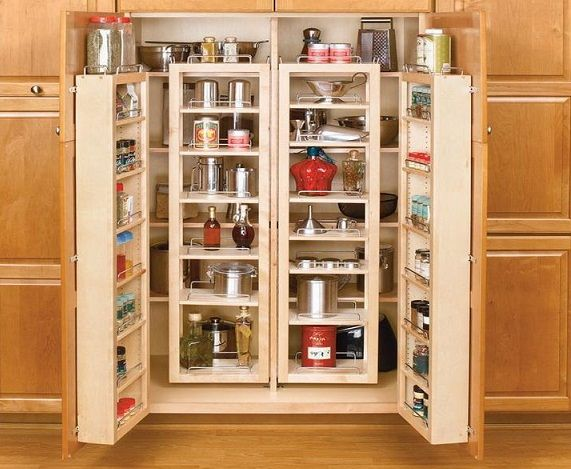 Pantries For Kitchens Ideas To Get The Best Usage Of Your Space
