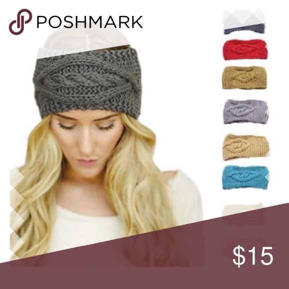 ☃Crochet Winter Headband New in Package This will keep you nice and warm❄  Boutique Accessories Hats ec0ec61b353