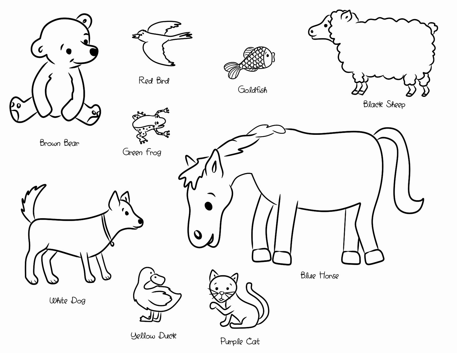 Polar Bear Eric Carle Coloring Pages In