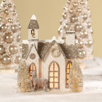 Bethany Lowe Designs The Old Church #churchitems